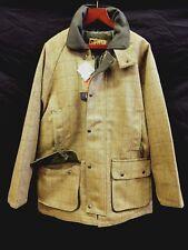 Mens Tweed Waterproof Jacket Coat