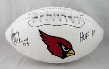 Aeneas Williams Signed Arizona Cardinals Logo Football w/ HOF- Jersey Source Aut