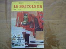 1968 LE BRICOLEUR plans conseils bricole et brocante SOMMAIRE EN PHOTO n°57
