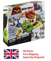 Angry Birds Sling and Smash Track Set Perfect Kids Boys Birthday Xmas Gift Toy