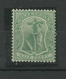 Montserrat 1908 Sg 35, 1/2d Deep Green, Lightly Mounted Mint. {C/W 323}