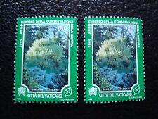 VATICANO - sello yvert y tellier nº 1011 x2 matasellados (A28) stamp