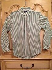 Mens New Ralph Lauren Custom Fit Striped Sport Shirt FREE SHIPPING
