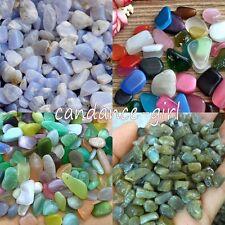 50g Bulk Tumbled Natural Blue Gravel Stones Gemstones Reiki Healing Crystal