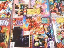 Marvel Comics X-Men Lot of 9 GENERATION X Comic Books (2)1995 (7)1996