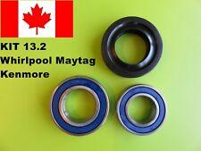 W10435302 ,2 TUB BEARINGS AND SEAL Whirlpool Maytag Kenmore KIT # 13.2 W10502879