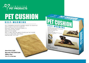 NEW Fine Life Pet Products Self-Warming Pet Cushion 18 Inch x 25 Inch
