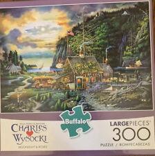 """NEW Buffalo Charles Wysocki """"Moonlight & Roses"""" 300 Piece Puzzle Sealed"""