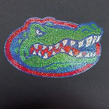 Women's Florida Gators spangle  V-neck T Shirt Tee Lady