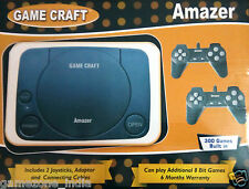 Game Craft Amazer 8 Bit Tv Video Game Complete Set With 300 Built-In Games