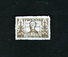Indochina Indochine Vietnam Stamp Overprint Amédée Anatole Prosper Courbet