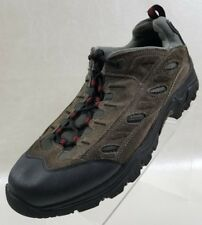 Ozark Ankle Boots Mens Hiking Gray Black Leather Lace Up Shoes Size 13