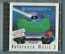 Pioneer REFERENCE MUSIC 3 early CD Press W Germany Limited Edition CDF 670 305