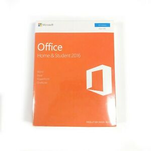 EUROPEAN ONLY! Microsoft Office Home and Student 2016 One User New Sealed