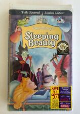 NEW Disney VHS SLEEPING BEAUTY MOVIE Masterpiece Collection 1997 Limited Edition