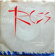 DISCO VINILE 45 GIRI DIANA ROSS TOUCH BY FIGHT FOR IT ITALY 1984