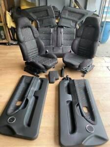 interior seat cloth fabric upholstery Silver Bmw M Rain M E30 E36 Coupe
