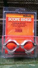 Millett 30 mm turn-in-Style basso nichel anelli