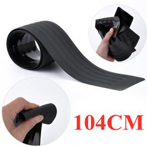 Rubber Accessories 104CM Car SUV Sill Plate Bumper Guard Protector Pad Cover