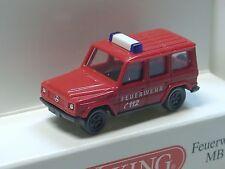 Wiking Mercedes G-Modell, Feuerwehr - 0934 04 - 1/160