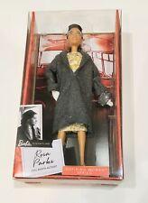 Barbie Inspiring Women ROSA PARKS 11.5in Doll Mattel BRAND NEW Gift Ships Fast