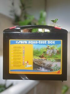 Test acquario Sera Aqua Test Box dolce e marino test valigetta completa