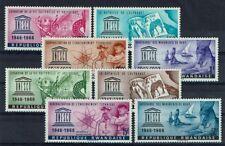 RWANDA 183 à 190 ** MNH 1966 ANNIVERSAIRE DE L'UNESCO MONUMENTS DE NUBIE