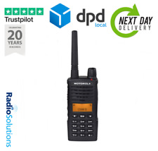 Motorola XT660D Digital Licence Free Two Way Radio Walkie Talkie With Charger