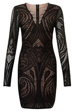 BNWT Lipsy Loves Michelle Keegan Lace Up Detail Lace Bodycon Dress UK10 RRP £65
