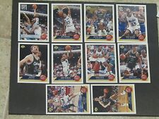 1992-93 UPPER DECK McDONALD's ORLANDO MAGIC COMPLETE SET SHAQUILLE O'NEAL RC