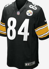 NIKE NFL PITTSBURG STEELERS JERSEY 468972-018 AMERICAN FOOTBALL LARGE BROWN 84
