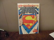 DC COMICS SUPERMAN MAN OF STEEL SPECIAL COLLECTORS EDITION #1