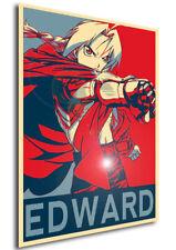 Poster Propaganda - FMA Fullmetal Alchemist - Edward Elric