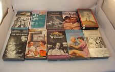 Mixed Lot Classic Movies, The Gold Rush, Lawrence of Arabia, 3 Stooges Vhs Tapes