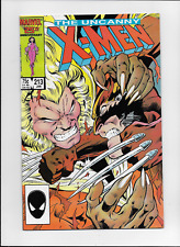 Uncanny X-Men #213 by Claremont & Davis Wolverine vs Sabretooth Marvel 1986