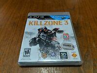 Killzone 3 -Sony PlayStation 3 - PS3 - Game, Case, & Manual