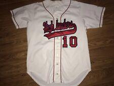 Wilson Radford Highlanders Baseball #10 Button Up Game Worn Jersey Size 46