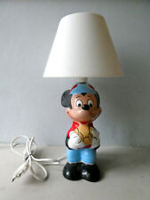 lampe de chevet enfant Mickey, Walt Disney, vintage des années 70-80