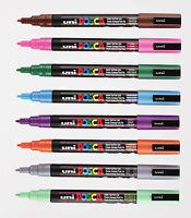 Uni Posca PC-3M Paint Marker Pens Paint Pens - Box of 12 by Colour