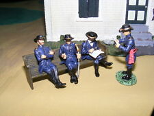 Frontline Figures, Union General mit Offiziere, American Civil War, Maßstab 1/32