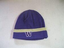 Nike University of Washington Huskies NCAA Purple Beanie One Size New With Tags
