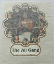 The Muhammad Ali Gang Vintage Iron-On Heat Transfer~1970 / 80's T-Shirt Graphic