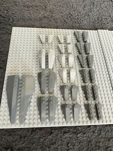 Lego lot genuine Bluish Grey Vehicle Slope And Curved Parts