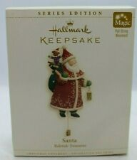 Hallmark Keepsake Magic Series Ornament Santa Yuletide Treasures 2006 NEW