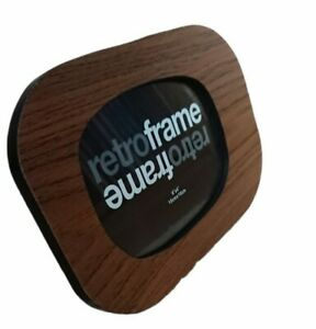 "Vintage Retro Style Look Wooden Photo Picture Frame 6"" X 4"" 15cm x 10cm"