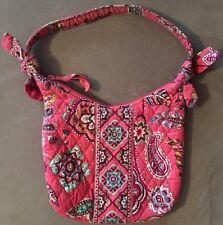 EUC *Vera Bradley Zipper  Purse/HandBag In Call Me Coral* Pink Paisley Design*