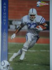 NFL 125 Anthony Johnson FB Fullback Pacific 1992