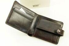 Montblanc Heritage Collection Brieftasche Ausweis Etui Leder Braun