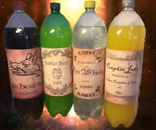 Harry Potter Birthday Halloween wine pop bottle label party stickers