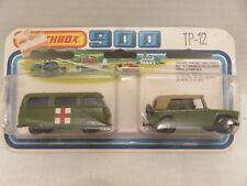 1978 Matchbox SuperFast 900 TP-12 Military Field Car + VW Ambulance Dormmobile